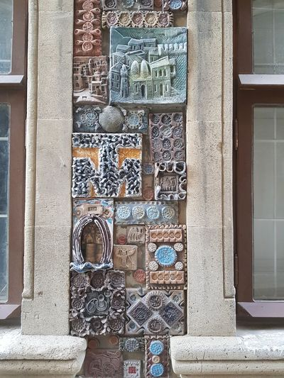 Pieces of art Adventures In The City Baku Icherisheher Oldtown Oldcity Azerbaijan Azerbaycan Azərbaycan May Windowframe Art Littleartpiece Backgrounds Full Frame Window Door Architecture Building Exterior Close-up Built Structure