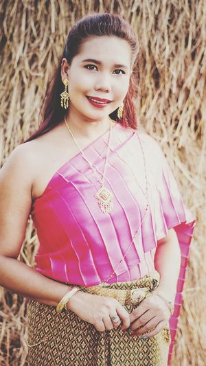 thai dress Thai_dress Thailand🇹🇭 Women Thai Thai Portrait Portrait Of A Woman