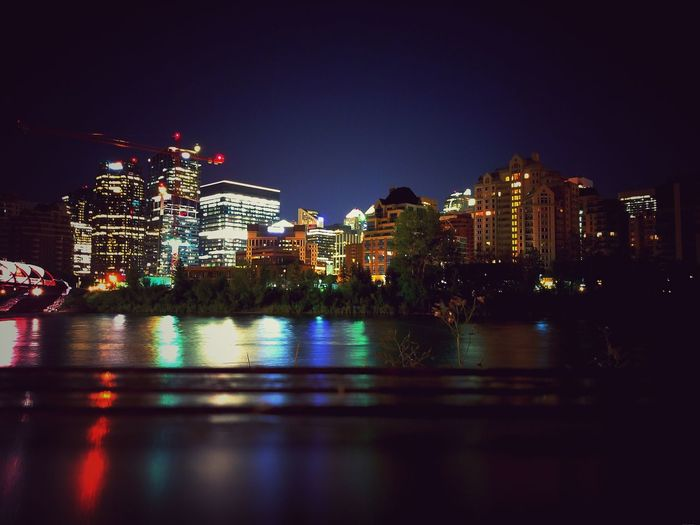 Getty Images Getty Eyem Best Shots Eyemphotography Night Illuminated Skyscraper Cityscape Reflection City Building Exterior Urban Skyline Architecture Travel Destinations No People Outdoors Sky Built Structure Modern Multi Colored Calgary Calgary Downtown Calgary Canada Calgary Alberta Calgarydowntown CalgarySkyline Calgaryisbeautiful Calgary, Alberta Tall - High Building