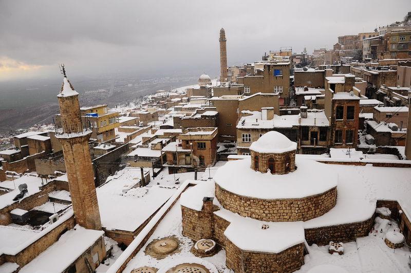 winter.. Mosque
