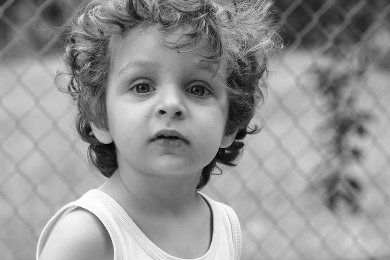 Look at me Face Eyes Blackandwhite Portraits Of EyeEm Sigma 105mm. 2.8 Macro Canon550D Bestoftheday Photooftheday Inspirational Love Lovely Babyboy Child Childhood Offspring Headshot Portrait Females Emotion Innocence Front View Cute Hairstyle Close-up Looking Outdoors This Is Natural Beauty