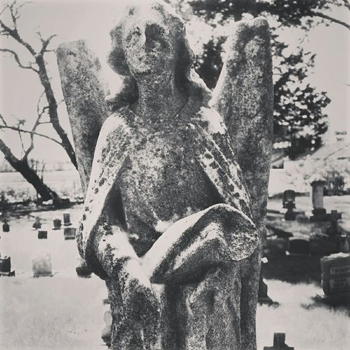 Photography Tombstone Beauty Cemetery Old Vintage Taking Photos Black And White Art Angel