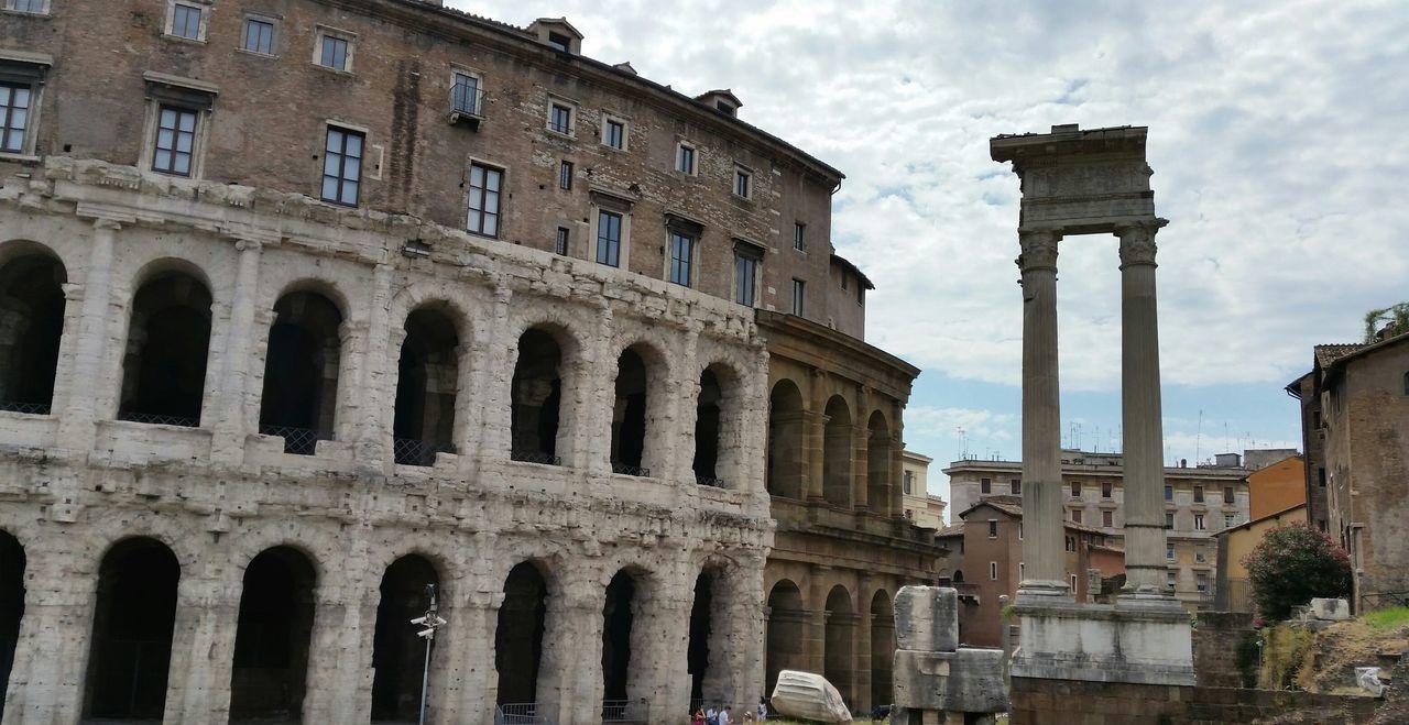 Theatre Of Marcellus Against Sky