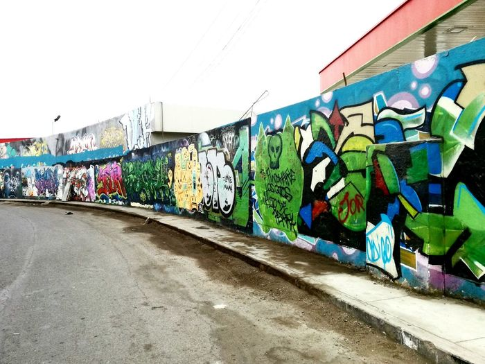 Street Art Graffiti Multi Colored Building Exterior Art Graffiti Streetphotography Art Photography Urbanphotography UrbanART Urban Art Architecture Built Structure