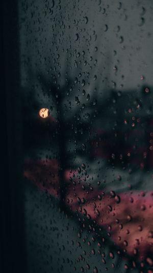 Raindropy on