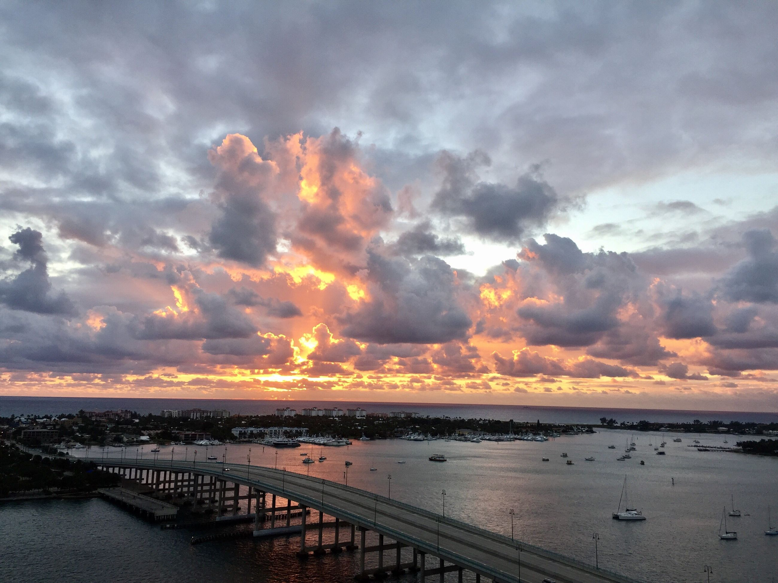 cloud - sky, sunset, dramatic sky, sea, nature, sky, beauty in nature, outdoors, scenics, no people, water, thunderstorm, power in nature, day