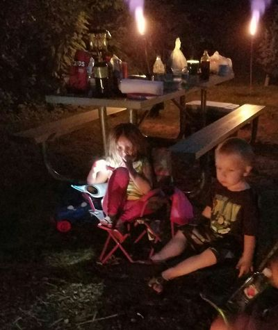Night Illuminated People Togetherness Real People Outdoors Little Campers Best Friends ❤ Garretson Sd Palisades Garretson South Dakota Good Times With Friends No Filter, No Edit, Just Photography Camping Trip 💗 Summer Memories 🌄 Kids Melt My Heart Sleepy Little Campers 💗 Summer 2017 🏊🌞 Threenagers 😂