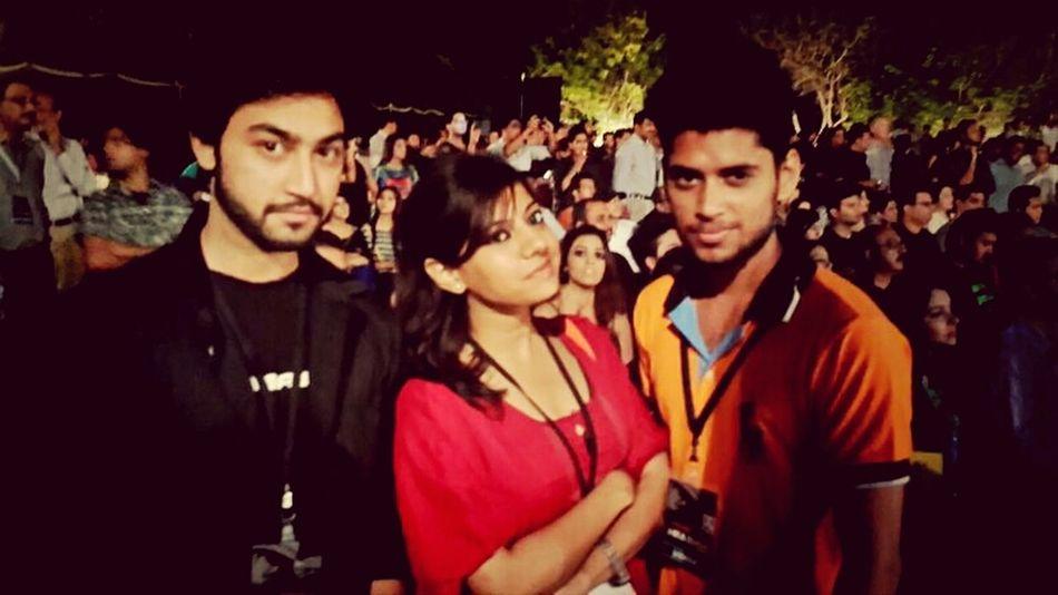 MikaSingh Concert Humtv Ushers #friends #uni #Fun #2013 #Cheers