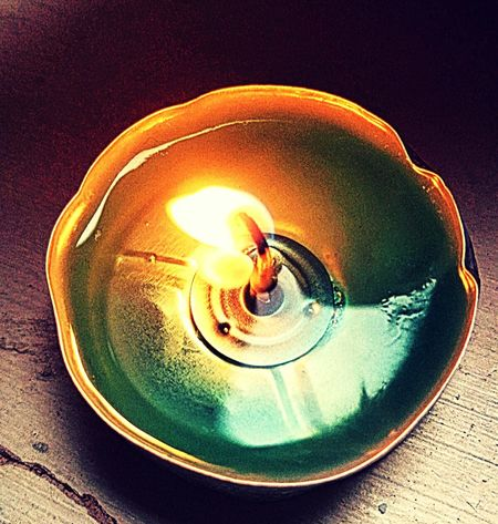 Lighting Equipment Electricity  Illuminated Spiral No People Indoors  Burning Close-up Oil Lamp Day Candlelight Candle Flame Candle Torquoise Colorful