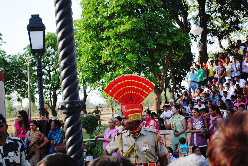Buffalo Soldier Soldier Police Amritsar Surat India