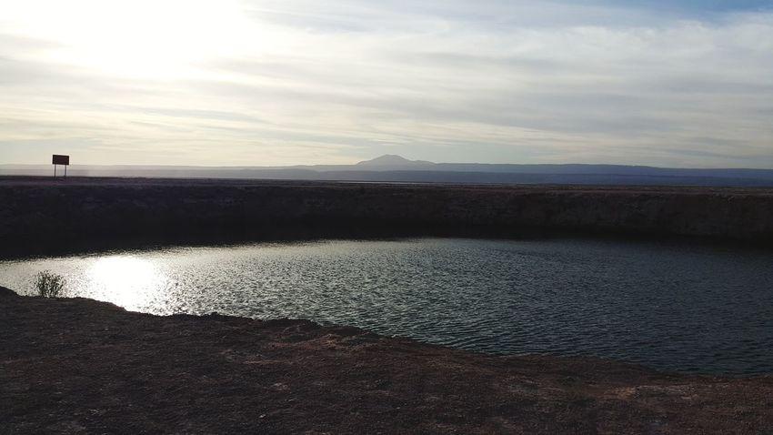 Ojos del Salar. Atacama. Atacama / Chile 🇨🇱 Clear Sky Atacama Desert Desert Sky Landscape Sunset Ojos Del Salar An Eye For Travel