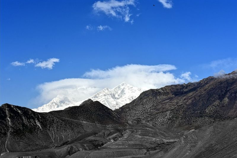 Mountain Range Beauty In Nature Jomsom Check This Out Amazing Nepal Way To Muktinath Temple Nepal Travel Amazing Mustang Mountain Nature