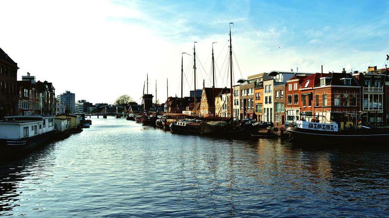 Leiden Holland Canal