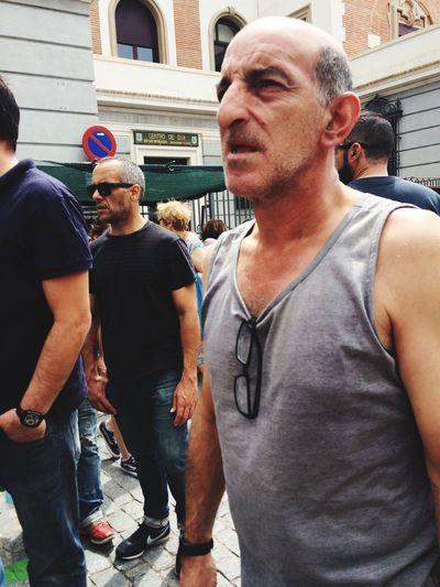 Streetphotography Rastro Madrid People