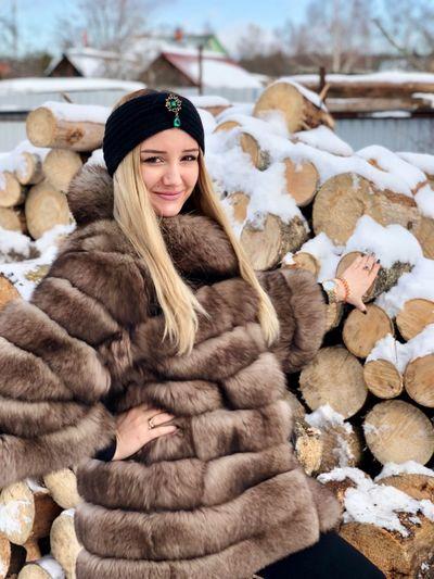 My wife) Winter