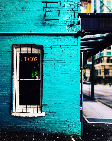 First pic here ✋🏻 Brick Wall City Tacos IPhoneography First Eyeem Photo