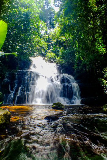 Mun dang waterfall 5th floor8 Waterfall Water Nature No People Outdoors Beauty In Nature Scenics Motion Day Power In Nature Tree Sky Freshness Vacations EyeEmNewHere Rock - Object The Week On EyeEm Beauty Travel Destinations Travel Forest Beauty In Nature Nature