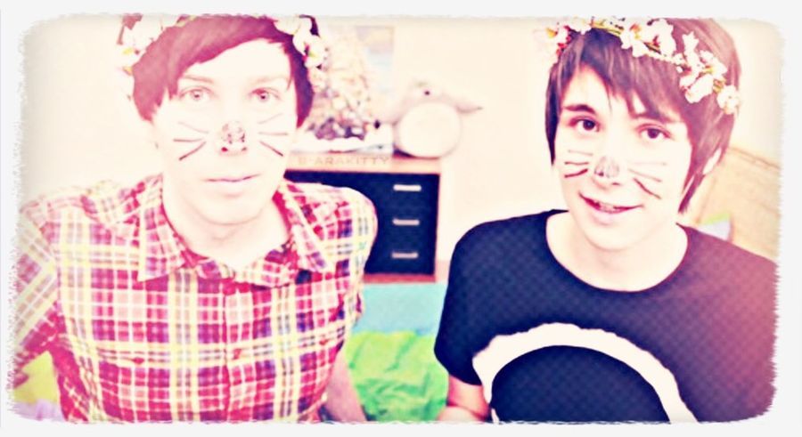 Danisnotonfire  Amazingphil Youtube Phan  Phil Lester ♥️ Dan Howell First Eyeem Photo