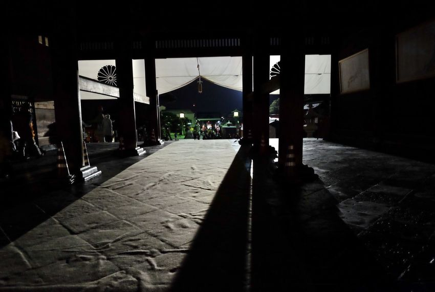 Shadow Temple Historical Building Japan Built Structure Architecture Building Exterior Outdoors Illuminated No People Day