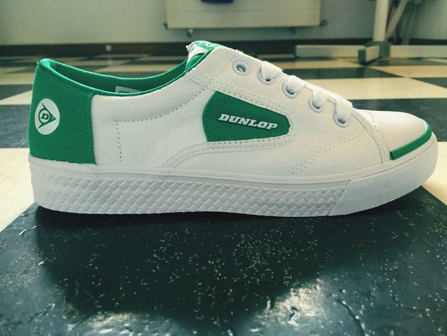 Dunlop Green Flash Retro Trainers Birthday Present Happy