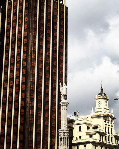 Plazacolon Madrid Architecture CityWalk Urbanphotography Urbanarchitecture
