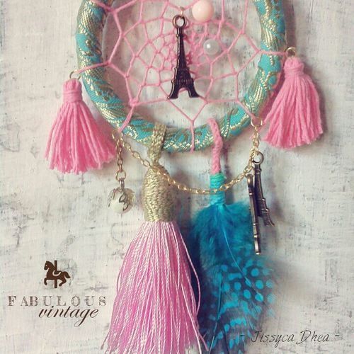 Pastel-Tosca Dreamcather • make us look so Chic in every moment. Handmade Jewellery Indonesian Crafter