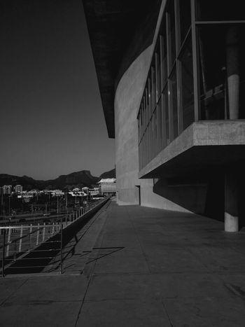 Concept. No People Urban View Mountain Rio De Janeiro Museum Art Architecture Built Structure Bridge - Man Made Structure No People Sky Outdoors