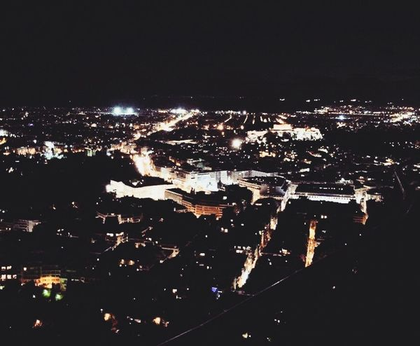 Cityscape Night Athens Lycabettus First Eyeem Photo