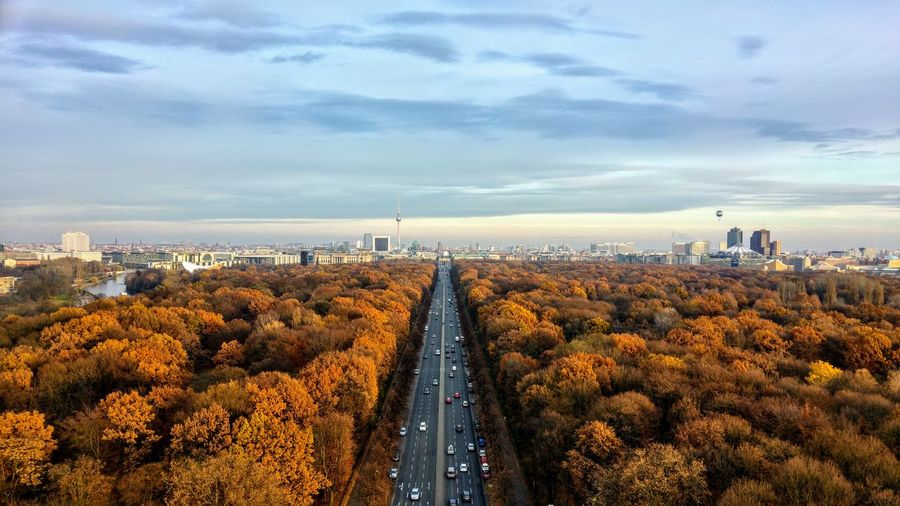 Autumn Autumn colors Autumn Leaves Berlin Berlin Photography Fall Beauty Fall Colors Road Scenery Shots Autumn🍁🍁🍁 Beauty In Nature Building Exterior City Cityscape Cloud - Sky Day Fall Fall Leaves Nature No People Outdoors Road Scenery Sky Tree EyeEmNewHere Shades Of Winter An Eye For Travel