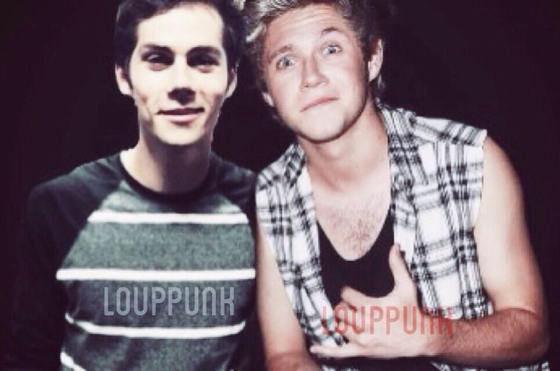 Photo edit done by me. Watermark: Instagram Manip Dylan O'Brien  Niall Horan
