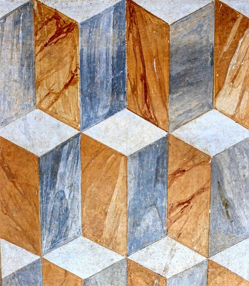 Geometric frescos in Monte Uliveto, year 1495, Italy Art Backgrounds Close-up Design Flooring Fresco Frescos Full Frame Geometric Geometric Abstraction Geometric Art Geometric Shape Geometric Shapes Italy Old Painting Paintings Pattern Siena Tile Tiled Floor Tuscany