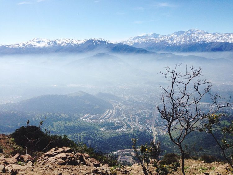 A Bird's Eye View Hanging Out Taking Photos Enjoying Life Relaxing Sky Sky And Clouds Ciudad City Chilean  Chile♥ Santiago De Chile Chile Manquehue Outdoors Clouds Cordillera Mountains Cordillera De Los Andes Paisaje Nature