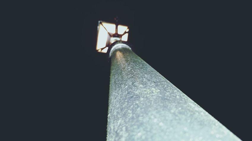 Looking Up Different Perspective Lampost Light Lamp Lighting Streetlight Glare Flare Lights Night Lights Shine Bright Old