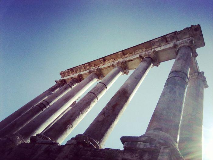 Roma Palatino Palatine Rome Romeitaly Beauty In Nature Roma Italia Tb Dreaming Nature Columnas History Historic Historia De Roma Architecture City Roadtorome