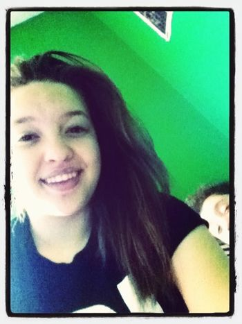 Just waking up , I look rough oh well (: