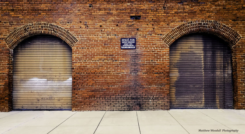'Space for Artists & Creatives' Art Studios Brick Brick Wall Pattern Sidewalk Textured  Wall Wall - Building Feature Sidewalk Discoveries Sidewalk Photograhy Brickwall Brick Building Downtown City Street Old Town Old Buildings Old Architecture Old City Storefront Businessowner Store Front Storehouse Warehouse Art Installation Art Yourself