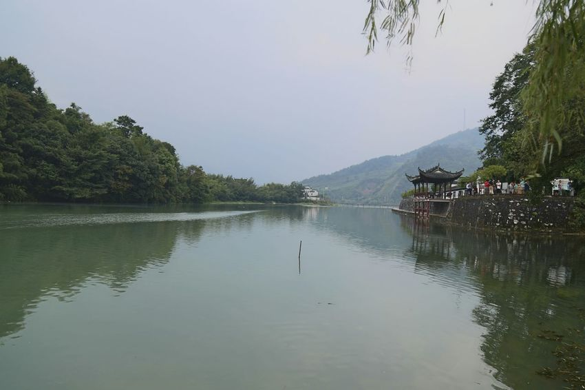 The Purist (no Edit, No Filter) Old Town Anhui,China My Unique Style River Watercolor