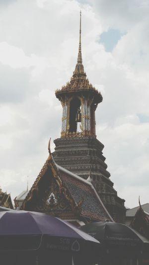 Beautiful Pagoda, Wat Prakeaw Bangkok , Thailand, Taking Photos.