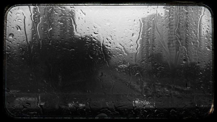 Window Glass - Material Backgrounds Water Rain Wet Drop Rainy Days Public Transportation Mrt Transport Traveling Beauty In Nature