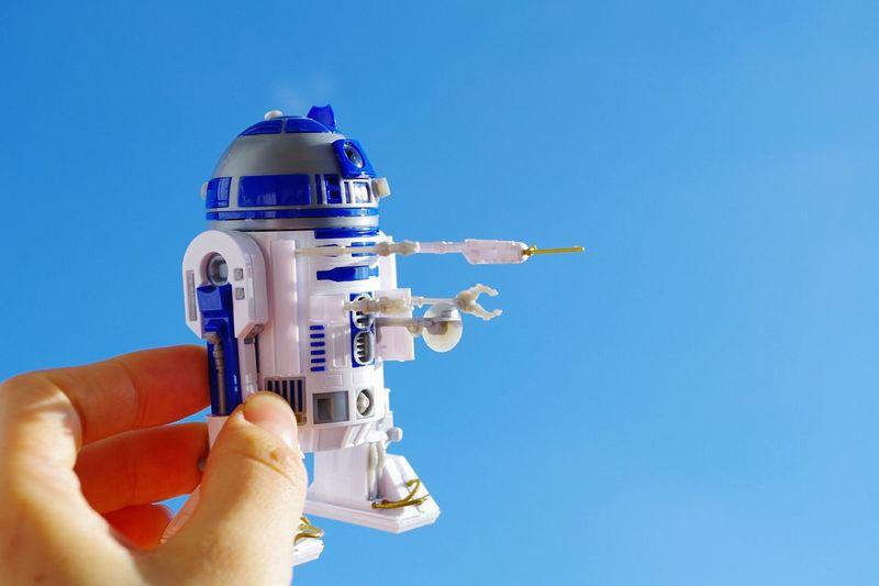 Sky Starwars R2D2 Love Plastic Model