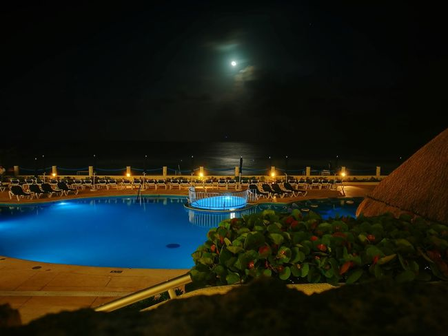 Night Dream Night Happiness Is A Drug Paradise Vacations Holiday Resort Illuminated Water Moon
