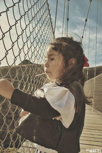 #Kids Girl Sunset Travel Desertic Indie Vintage Child
