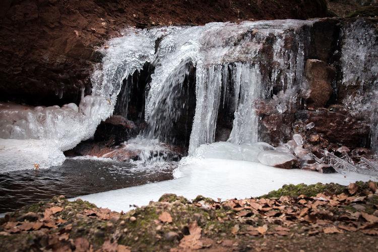Beauty In Nature Eis Frozen Frozen Nature Saarwellingen Wasserfall Wasserfall Waterfall Winter
