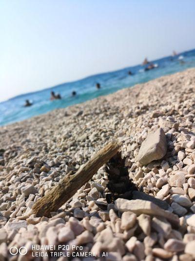 Rovigno Rovinj, Croatia Croatiafulloflife Bringbacksummer Perfect Moment Huaweiphotography Photography Catching The Moment Water Sand Wave Summer Water's Edge Coastline Rocky Coastline