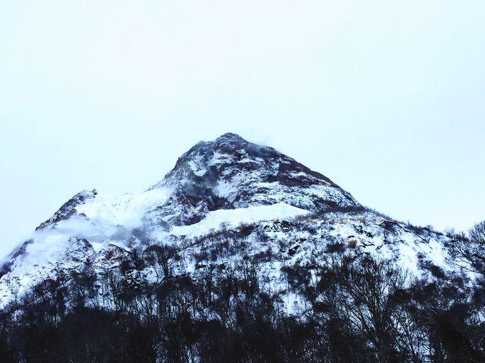 Miles Away Snow Winter Mountain