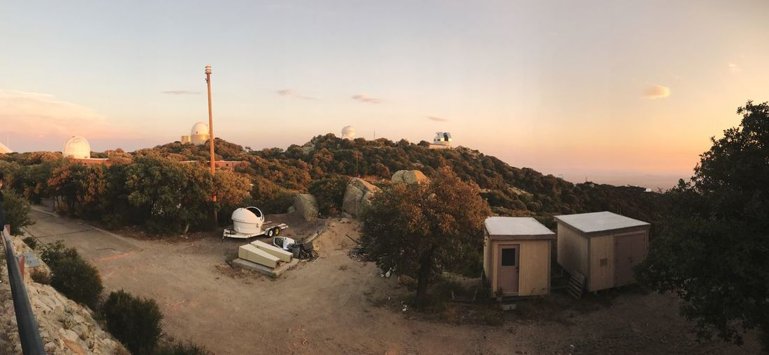 EyeEm Selects Built Structure Space And Astronomy Sunset Telescope Observatory