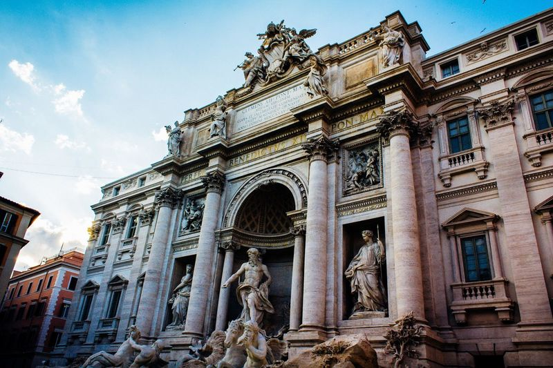 Trevi fountain Treviso Trevi Trevi Fountain Rome Rome Italy Streetphotography Focus On Foreground Street Photography Travel Destinations Travel Vatican Tourist EyeEm Selects Light City Statue Sculpture History Architectural Column Ancient Civilization Sky Architecture Building Exterior Built Structure The Traveler - 2018 EyeEm Awards EyeEmNewHere