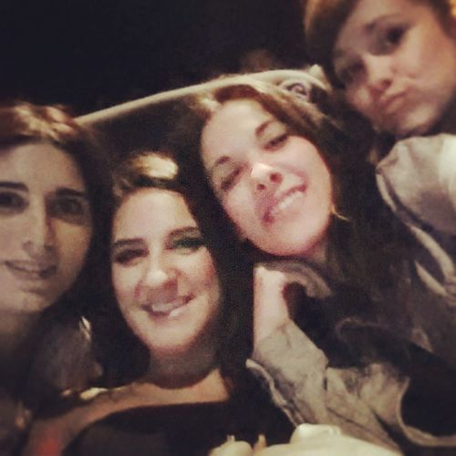 Movie time The Fault in Out Best Friends ❤ Stars!!! Summer'14 Melany, Sandra, Soraya & Anais Shu's