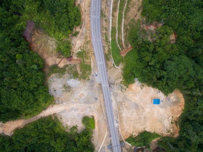 Aerial Shot Drone  Aerial View Dji High Angle View Landscape Mountain Road Nature No People Outdoors Road Rural Scene Scenics Transportation Tree Winding Road