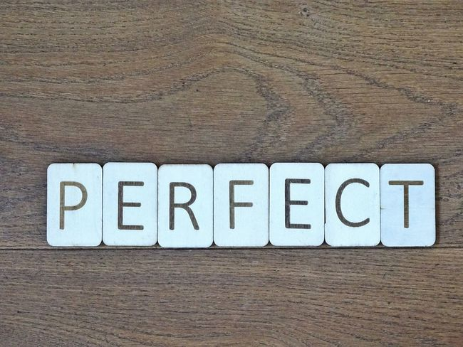 Perfect Spelled out with wooden letters. Words And Letters Letter Lettering Typography Quote Words Creative Wooden Background Wooden Letters Letters Word Perfect